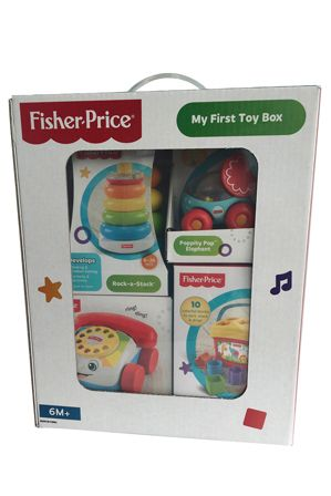 Fisher Price My First Toy Box