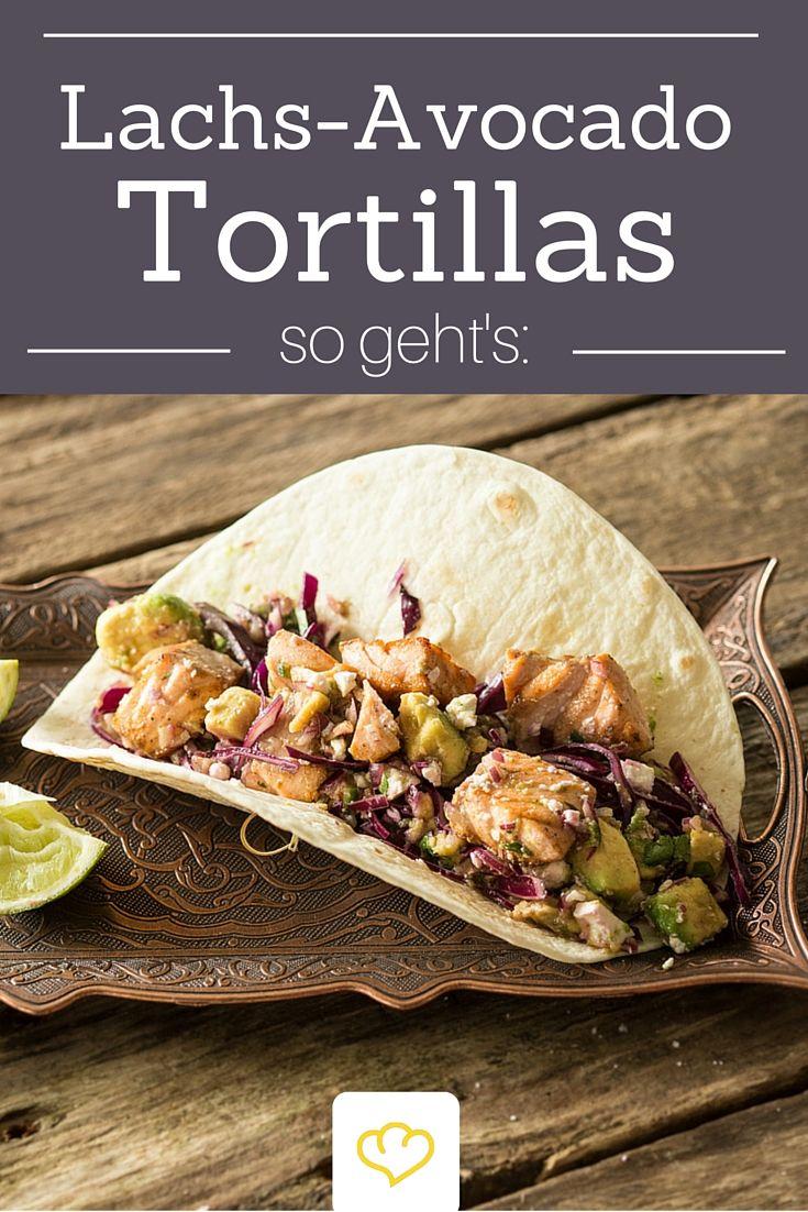 Ruckzuck auf dem Tisch: Lachs-Avocado Tortillas