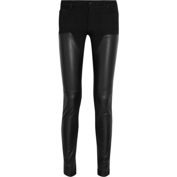 25  best ideas about Leather Skinny Jeans on Pinterest | Cutout ...