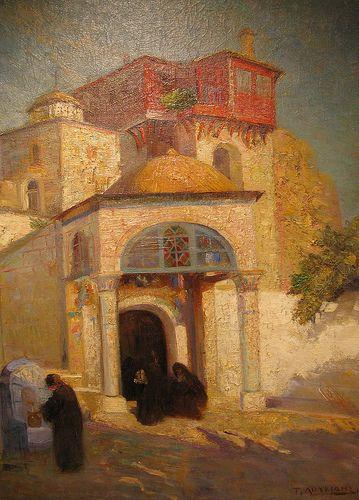 Monastery, 1916, Tasos Loukidis