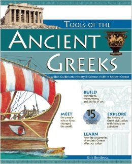 Delve into Tools of the Ancient Greeks where kids discover how ancient theories continue to influence modern-day thinking. Covering topics such as astronomy, geography, and democracy, children will learn about this great civilization and how the people of ancient Greece lived.