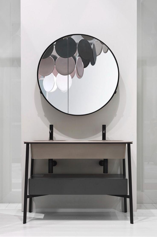CATINO doppio con cassetto by Ceramica Cielo - design Andrea Parisio e Giuseppe PEZZANO #bathroom #ceramic #design #style #decor #homeinterior #washbasin #catino #colour #leterredicielo #cielo @ceramica_cielo