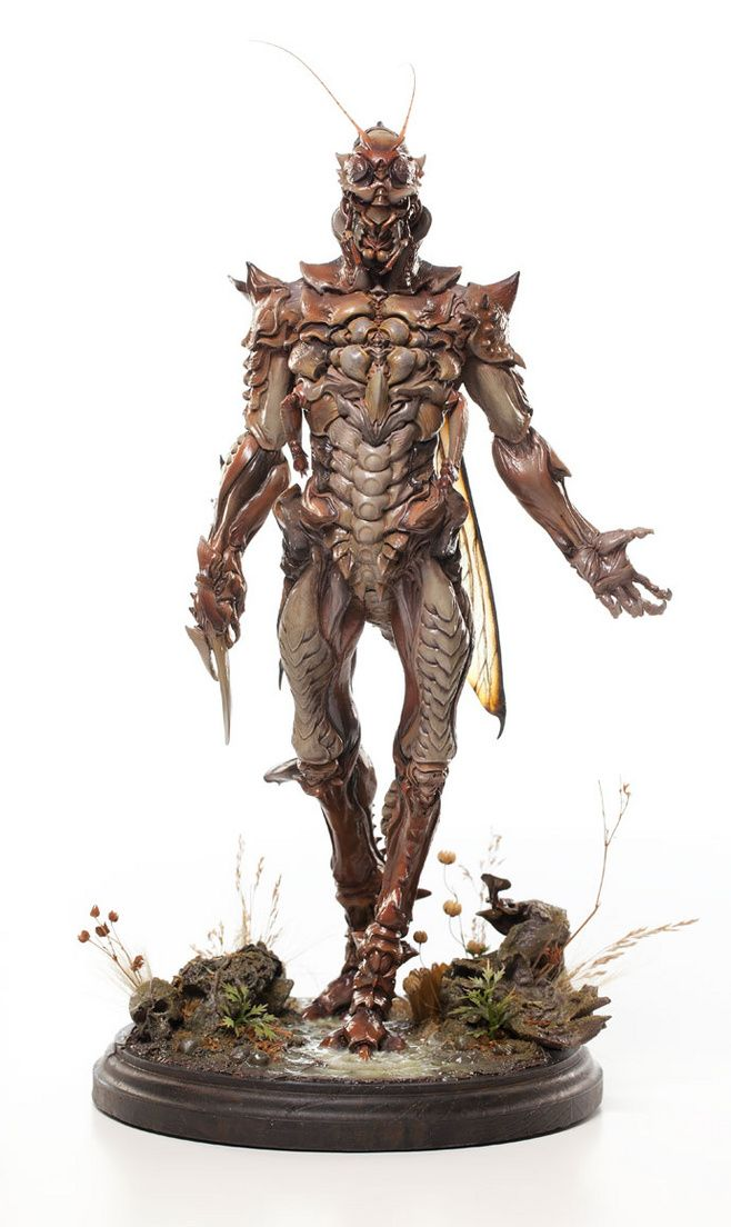 insectoid, front
