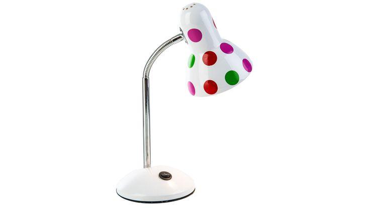 risch, fröhlich und auch ein bißchen frech – so präsentiert sich die kleine Tischleuchte Pointer. Das Design ist zunächst eher klassisch. Ein runder gewölbter Fuß in Weiß, ein schlanker Ständer, der in einen Flexarm ausläuft, und ein Lampenschirm, bei dem sich ein abgerundeter Zylinder zu einer Glocke öffnet – das hat Tradition. #leuchte #licht #beleuchtung #lampe #modern