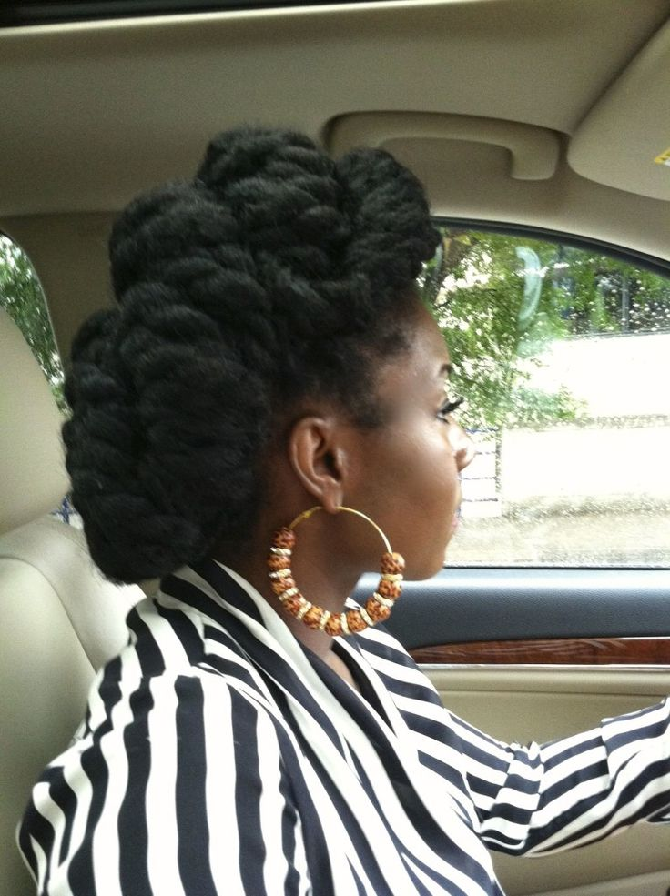 Twisted Havana Twist Updo Style                                                                                                                                                                                 More