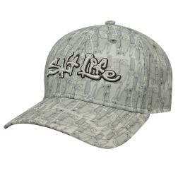 Sketched Lures Water Repellent Salt Life Hat