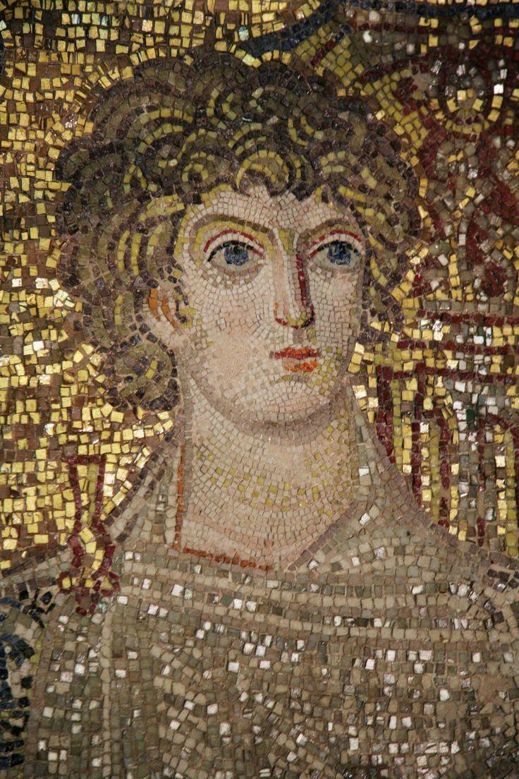 Rotonda di San Giorgio, Salonicco, Grecia, I mosaici della fine del IV -metà del V secolo. Sant'Onesiforo