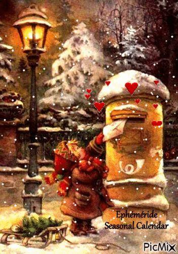 Lettre au Père Noël * Letter to Santa*