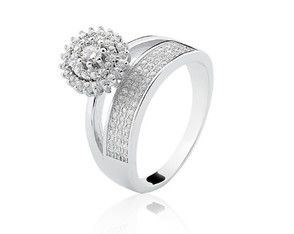 5d56705e7fbc1 anel-solitario-duplo-feminino-cravejado-prata-de-lei-925-zirconia ...