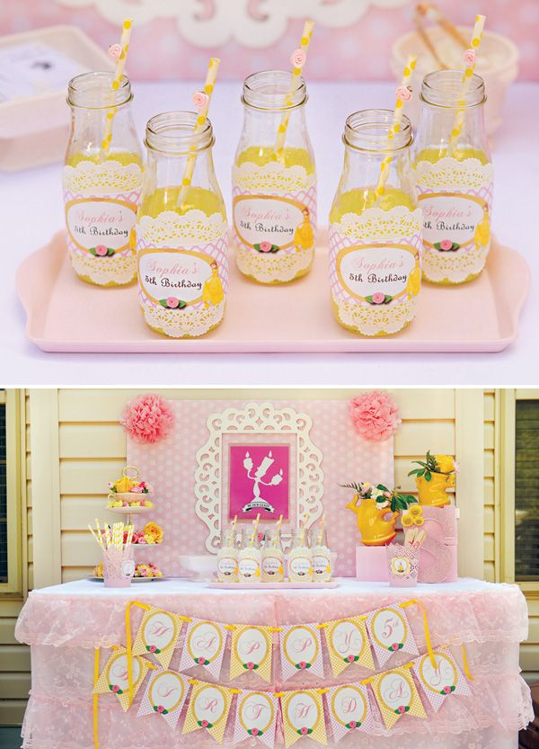 Belle+Inspired+Princess+Tea+Party+Birthday+{Be+Our+Guest!}