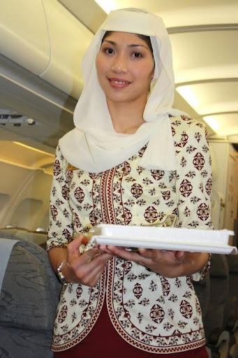 Royal Brunei Airlines Flight Attendants ~ Cabin Crew Photos