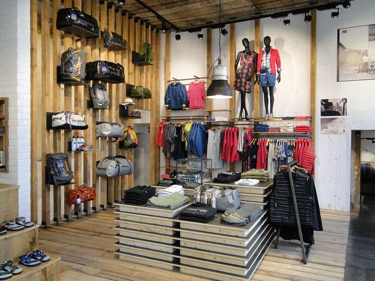 Patagonia, retail design, interior design, store, Trento, concept, design, production, installation, visual merchandising #store