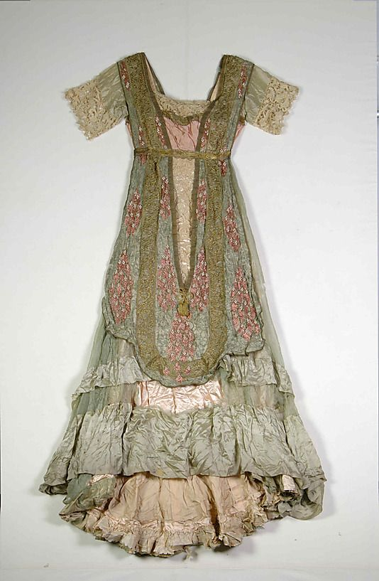 Evening dress Callot Soeurs (French, active 1895–1937) Designer: Madame Marie Gerber (French) Date: 1910–12