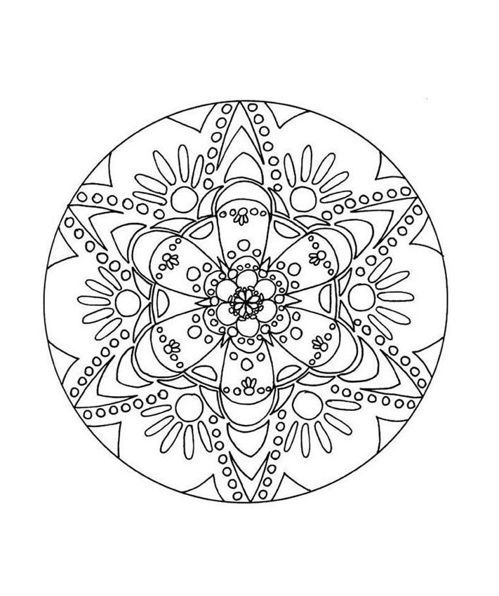 printable abstract coloring pages for kids - Pictures To Coloring Pages