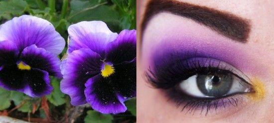 Two bold, purple flower looks with MUFE | Idea Gallery | Makeup Geek
