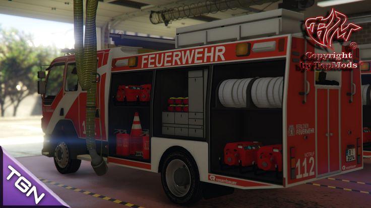 DAF Berlin Fire Department (Berliner Feuerwehr) - GTA5-Mods.com