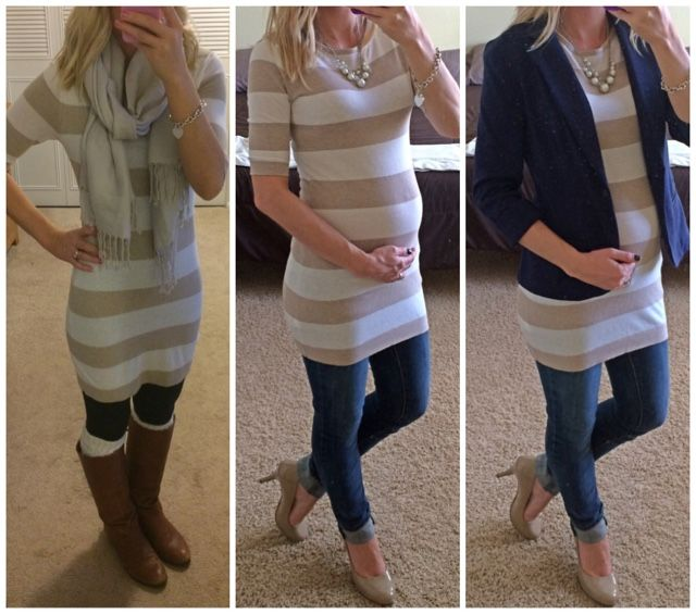 Thrifty Wife, Happy Life: Making the Most of Non-Maternity Clothes~Second Trimester