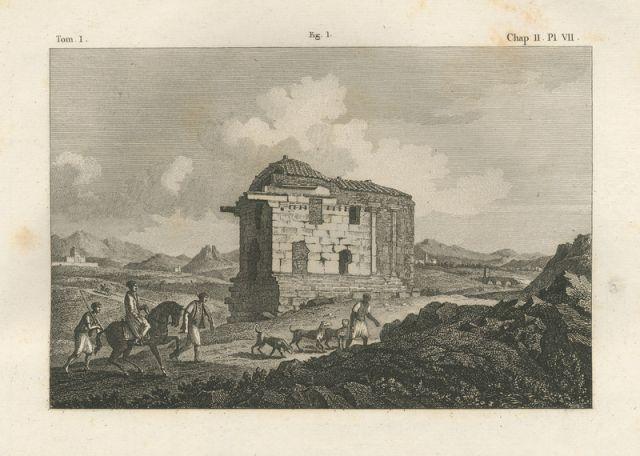 Ο ναός της Αγροτέρας Αρτέμιδος στον Ιλισσό. - STUART, James / REVETT, Nicholas - ME TO BΛΕΜΜΑ ΤΩΝ ΠΕΡΙΗΓΗΤΩΝ - Τόποι - Μνημεία - Άνθρωποι - Νοτιοανατολική Ευρώπη - Ανατολική Μεσόγειος - Ελλάδα - Μικρά Ασία - Νότιος Ιταλία, 15ος - 20ός αιώνας