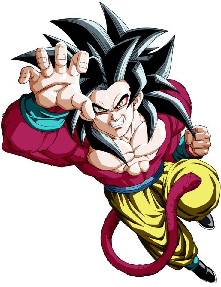 Son Goku Supa Saiya-jin Fo by Monstkem