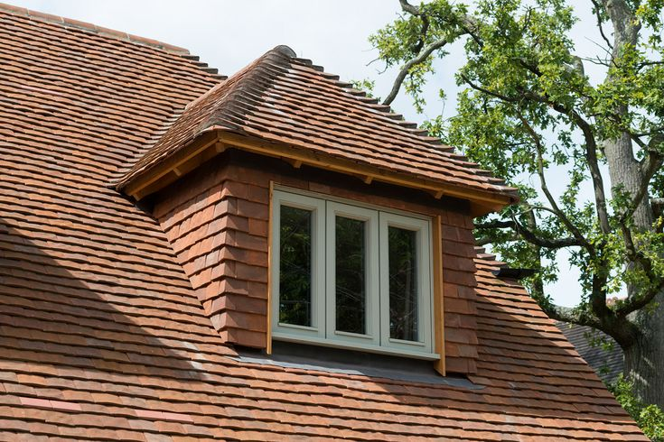 tile hung dorma window