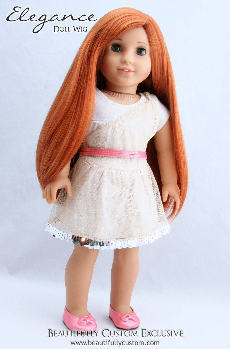 how to change the wig on an american girl doll