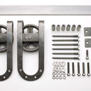 Vintage Sliding Door Hardware Kit