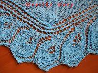 shawl / szal / chusta / Semele / druty / knitting / Druciki Dory