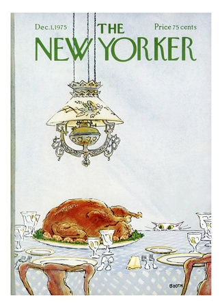 Copertina - The New Yorker - 1 dicembre 1975 (George Booth)