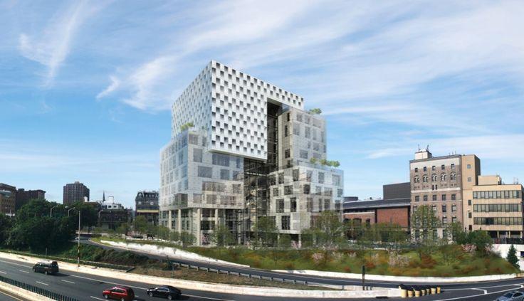 John and Frances Angelos Law Center / Behnisch Architekten + Ayers Saint Gross  University of Baltimore, 2013