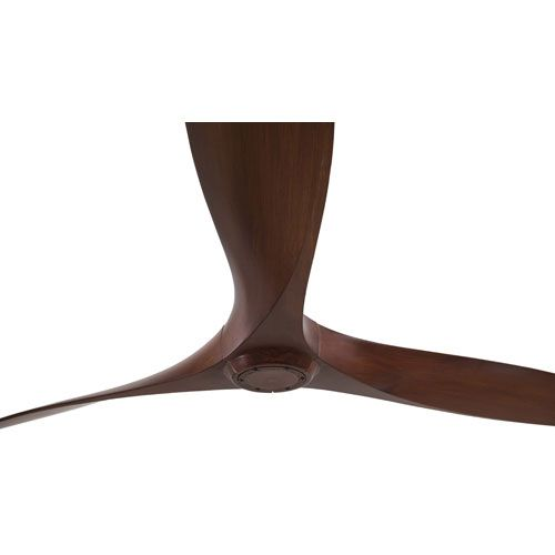 Aviation 60 Inch Ceiling Fan In Rosewood With Three Blades Minka Aire Stem Mounted Fan Cei
