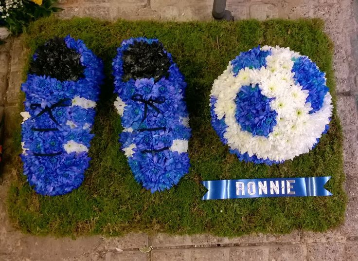 Chelsea football funeral tribute