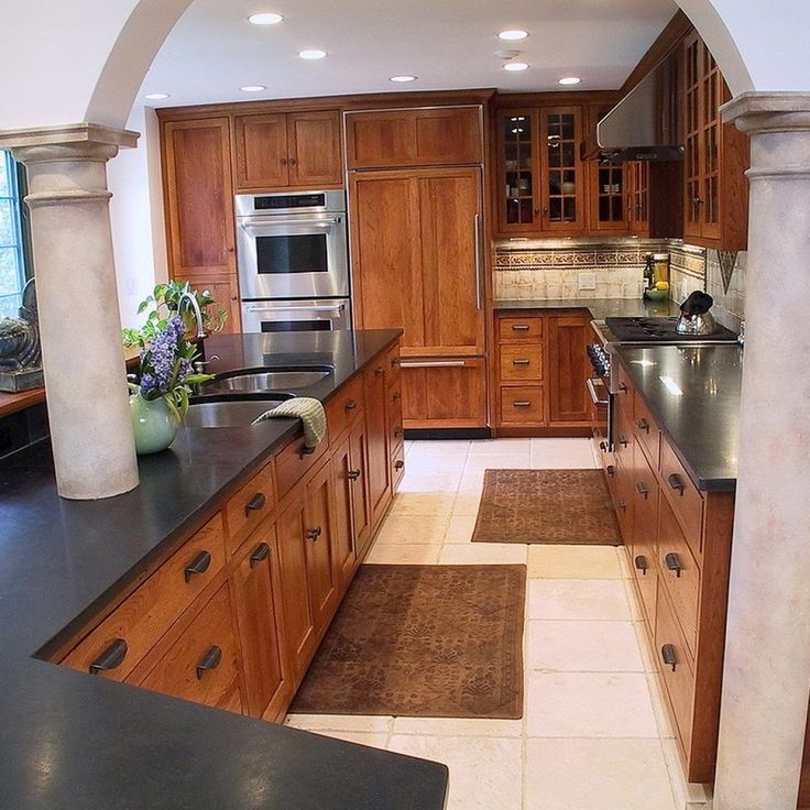 1000+ Ideas About Hickory Kitchen Cabinets On Pinterest