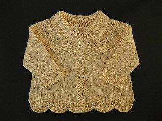 Baby Girl Knitted Sweater Pattern : 282 best ideas about Baby clothes on Pinterest Knitting patterns baby, Free...