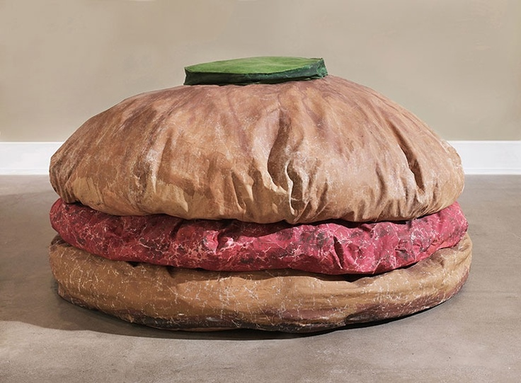 Does Claes Oldenburg have any Public Art/Soft Sculptures in the UK?