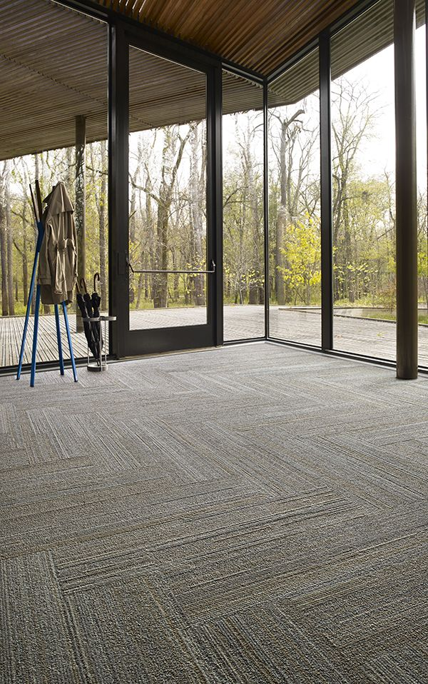 Interface | Modular Carpet Tile | Near U0026 Far | NF400 Hemp In Open / Public