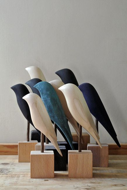 New Birds for 2014 from the Curious Workshop. These will be on sale on Etsy very soon #thecuriousworkshop
