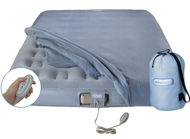 Aero Bed Blow Up Mattress With Auto Plug Pump Full Size