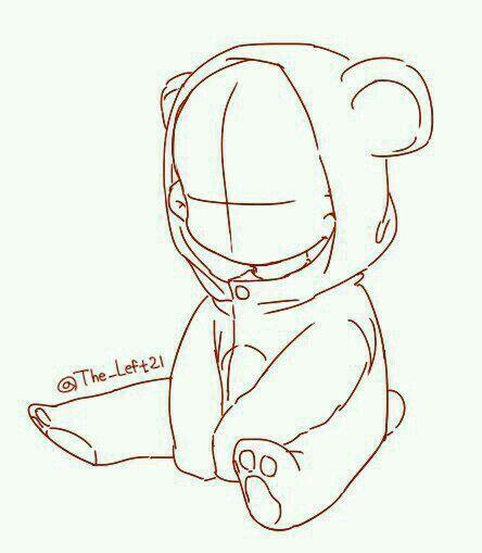 Poses , chibi , bear