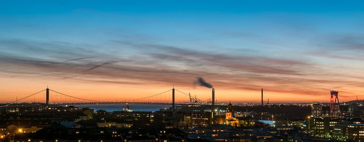 Sunset over Gothenburg by Anders Wester on 500px