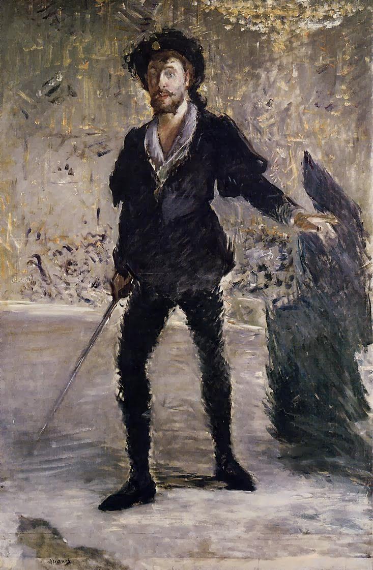 Ο Faure ως Άμλετ (1877)
