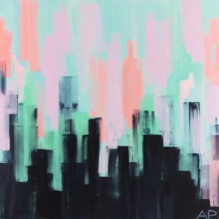 Bayside Skyline 7 by Amanda Parsons | Limited Edition Print | Unframed
