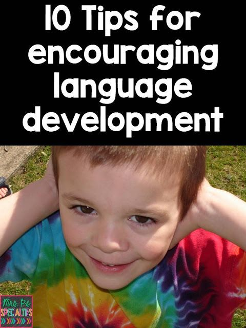 Mrs. P's Specialties!: 10 Tips for Language Development