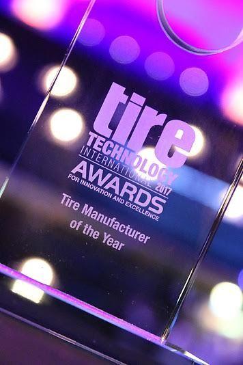 """Βραβείο «Κατασκευαστή Ελαστικών της Χρονιάς 2017» στην Continental AG: Με το βραβείο του """"Κατασκευαστή ελαστικών της Χρονιάς 2017""""…"""