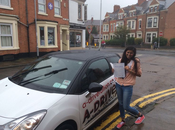 Congras to Umika Patel of the University of Northampton for passing her practical driving test 1st time 1/9/14 with only 4 minor driving faults at Northampton DTC with Andrew Batty of www.adrivetuition.co.uk I passed my driving test with Andrew today, and I couldn't be happier! My driving experience has not been great with a previous instructor, but ever since I started driving with Andrew I felt like I had the ability to do a lot more, he taught me the tricks and tips to make driving…