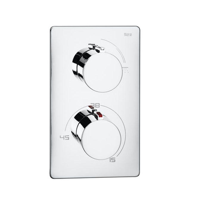 http://www.edenhogar.com/es/termostato-ducha/roca-t-1000-mezclador-termost%C3%A1tico-ba%C3%B1o-ducha-5a2809c00.html  Roca T-1000 Mezclador termostático empotrable para baño-ducha