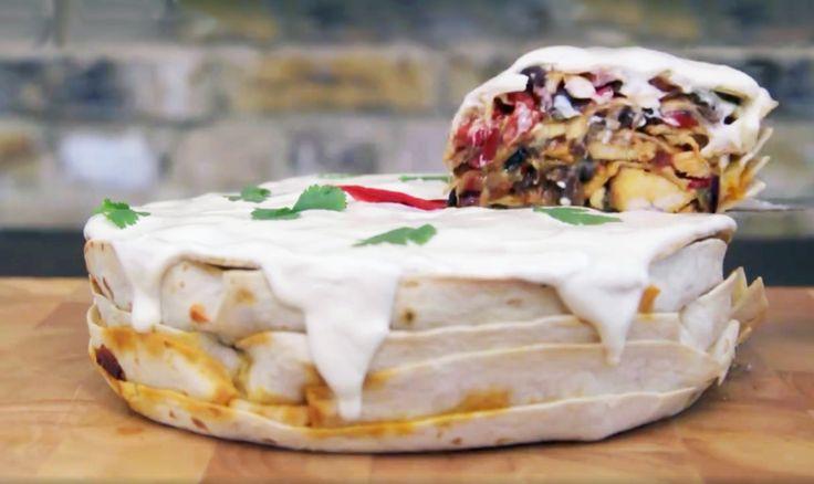 How to Make Your New Mexican Food Favorite, Fajita Cake