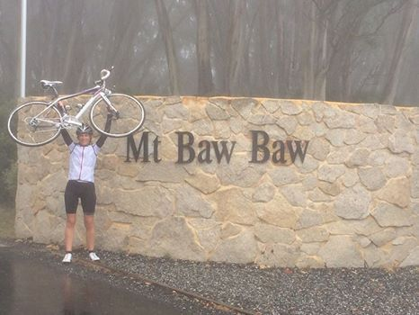 I made it to the top of Mt Baw Baw the second time around.