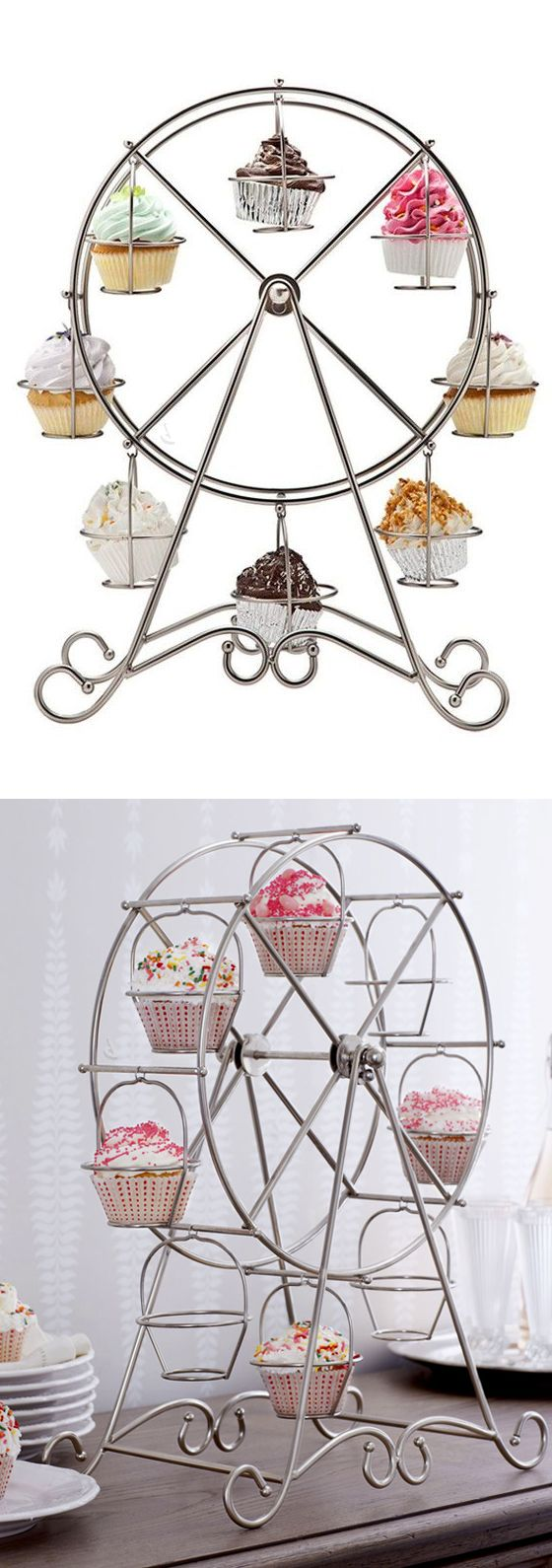 Ferris wheel cupcake holder! #product_design