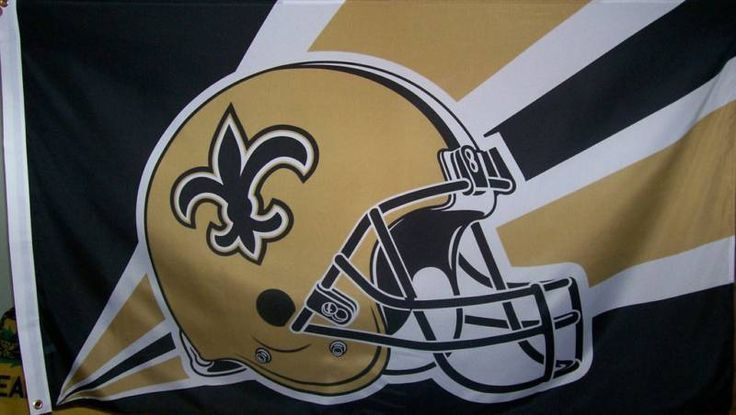NEW ORLEANS SAINTS FLAG - BRAND NEW - OFFICIAL NFL FLAG #NewOrleansSaints