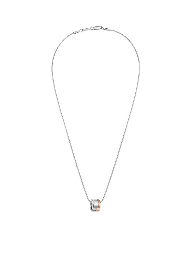 Calvin Klein Ketting met ronde hanger • de Bijenkorf